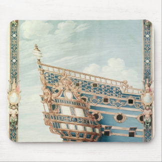The Aftercastle of 'Le Soleil Royal' Mouse Pad