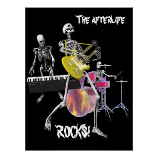 The afterlife ROCKS! Poster