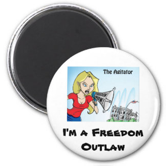 The Agitator Outlaw Magnet