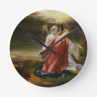 The Agony in the Garden, 1858 (oil on panel) Wall Clocks