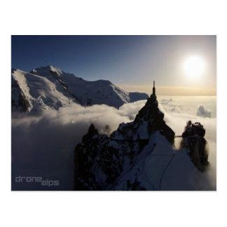 The Aiguille du Midi and Mont Blanc Postcard