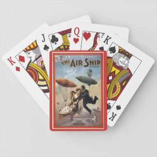 The Air Ship Playing Cards
