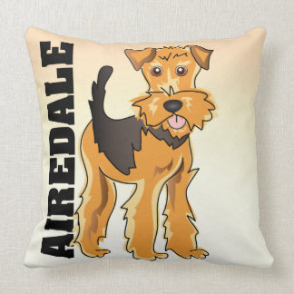 The Airedale Terrier Pillow