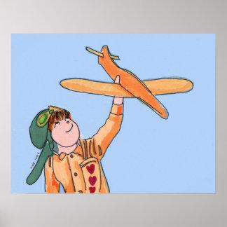 The Airplane Print