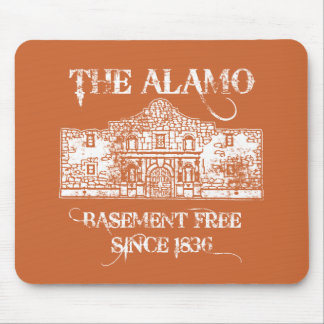 The Alamo Basement Mouse Pad