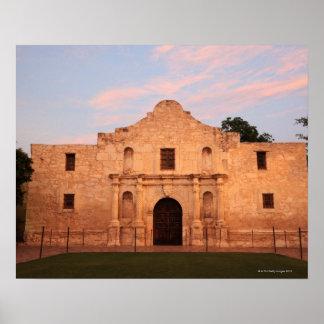 The Alamo Mission in modern day San Antonio, 2 Poster