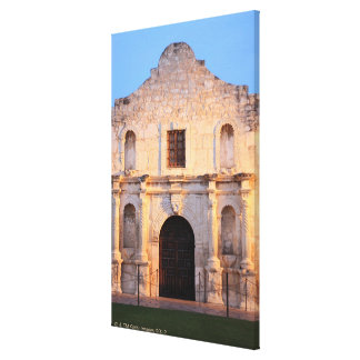 The Alamo Mission in modern day San Antonio, Canvas Print