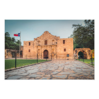 The Alamo Photo Print