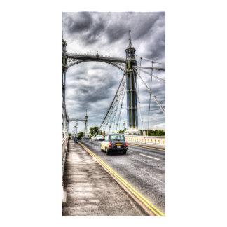 The Albert Bridge London Picture Card