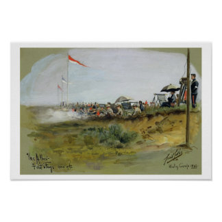 The Albert - First Stage, 900 yards, Bisley Camp, Poster
