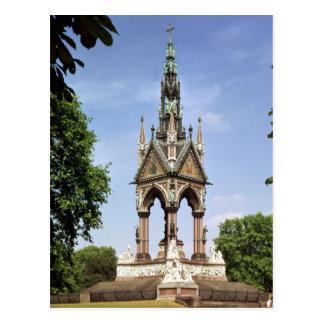 The Albert Memorial from the Albert Hall Postcard