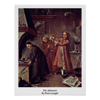 The Alchemist By Pietro Longhi Poster