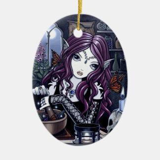 """The Alchemist"" Gothic Potion Fae Ornament"