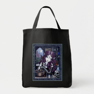 """The Alchemist"" Gothic Potion Fae Tote Bag"
