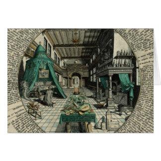 The Alchemist's Laboratory Card