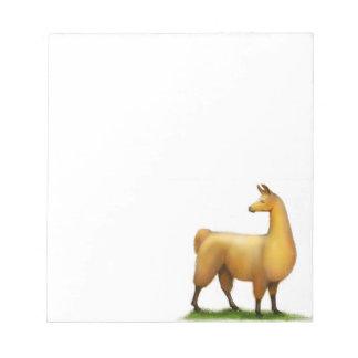 The Alert Llama Notepad