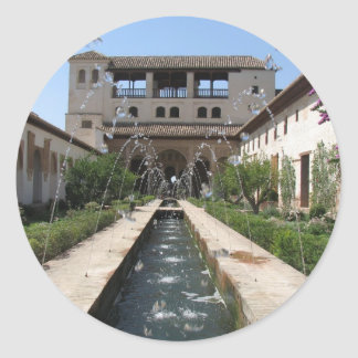 The Alhambra Classic Round Sticker