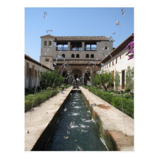 The Alhambra Postcard