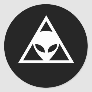 The Alien Conspiracy Round Sticker