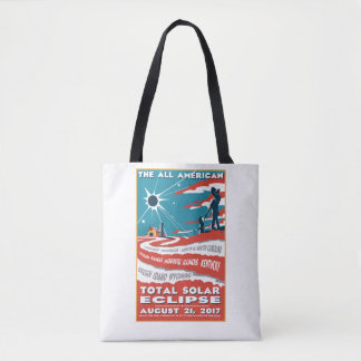 The All American Total Eclipse Tote Bag