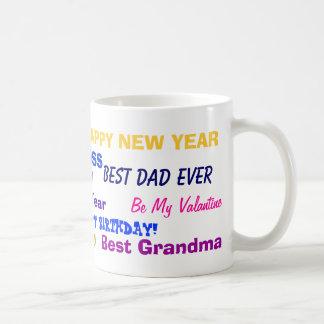 The All Pourpose Gift Mug! V1 Basic White Mug
