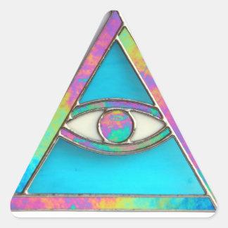 """The All Seeing Eye"" sticker"