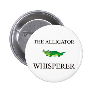 The Alligator Whisperer 2 Inch Round Button