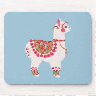 The Alpaca Mouse Pad