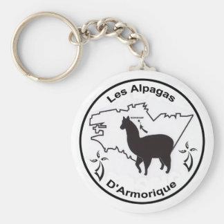The Alpacas D' Armorique Keychain
