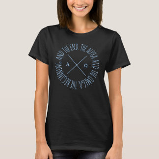 'The Alpha and The Omega' Christian T-shirt