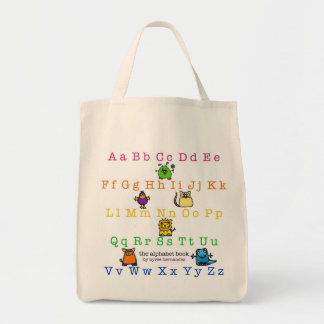 the alphabet book - cover - grocery bag
