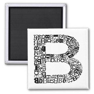 The Alphabet Letter B Magnet