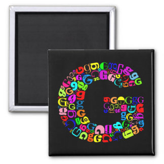 The Alphabet Letter G Magnet