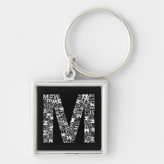 The Alphabet Letter M Keychain