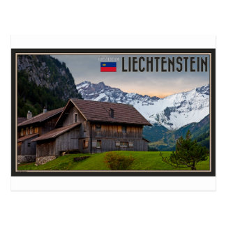 The Alps of Liechtenstein Postcard