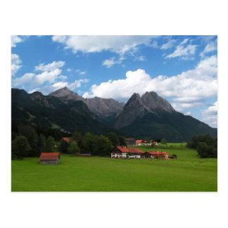 The Alps Postcard