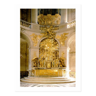 The Altar in the Royal Chapel (photo) Postcard