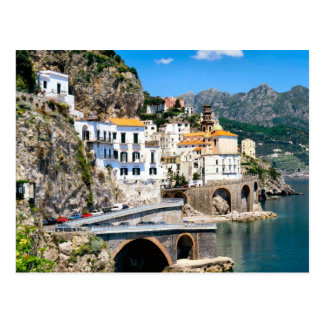 The Amalfi coadt of southern Italy Postcard
