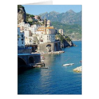 The Amalfi Vista Card