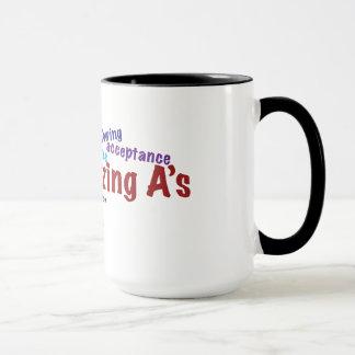 'The Amazing A's' mug. Mug