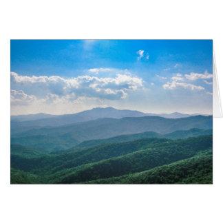 The Amazing Blue-Ridge Card