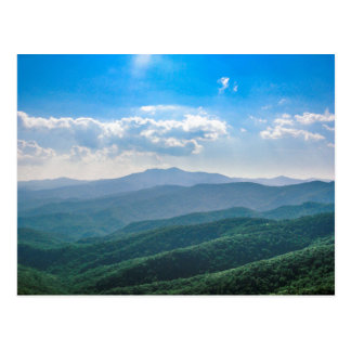 The Amazing Blue-Ridge Postcard