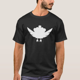 The Amazing Flying Cupcake (INVERTED) T-Shirt