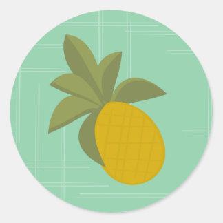 The Amazing Pineapple Classic Round Sticker