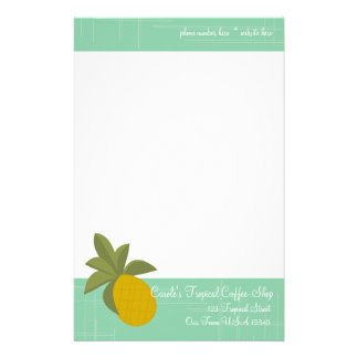 The Amazing Pineapple Stationery