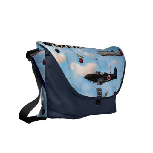 The Amazing Race Courier Bag