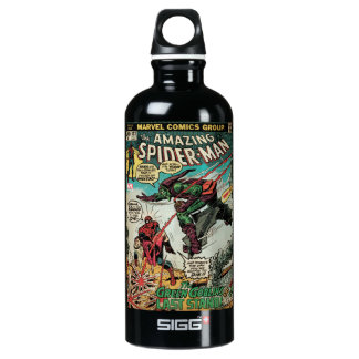 The Amazing Spider-Man Comic #122 Water Bottle