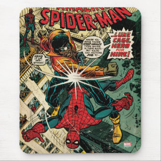 The Amazing Spider-Man Comic #123 Mouse Pad