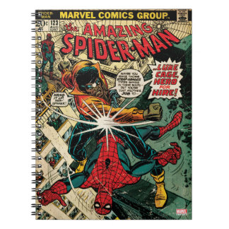 The Amazing Spider-Man Comic #123 Notebook