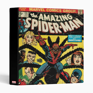 The Amazing Spider-Man Comic #135 3 Ring Binders